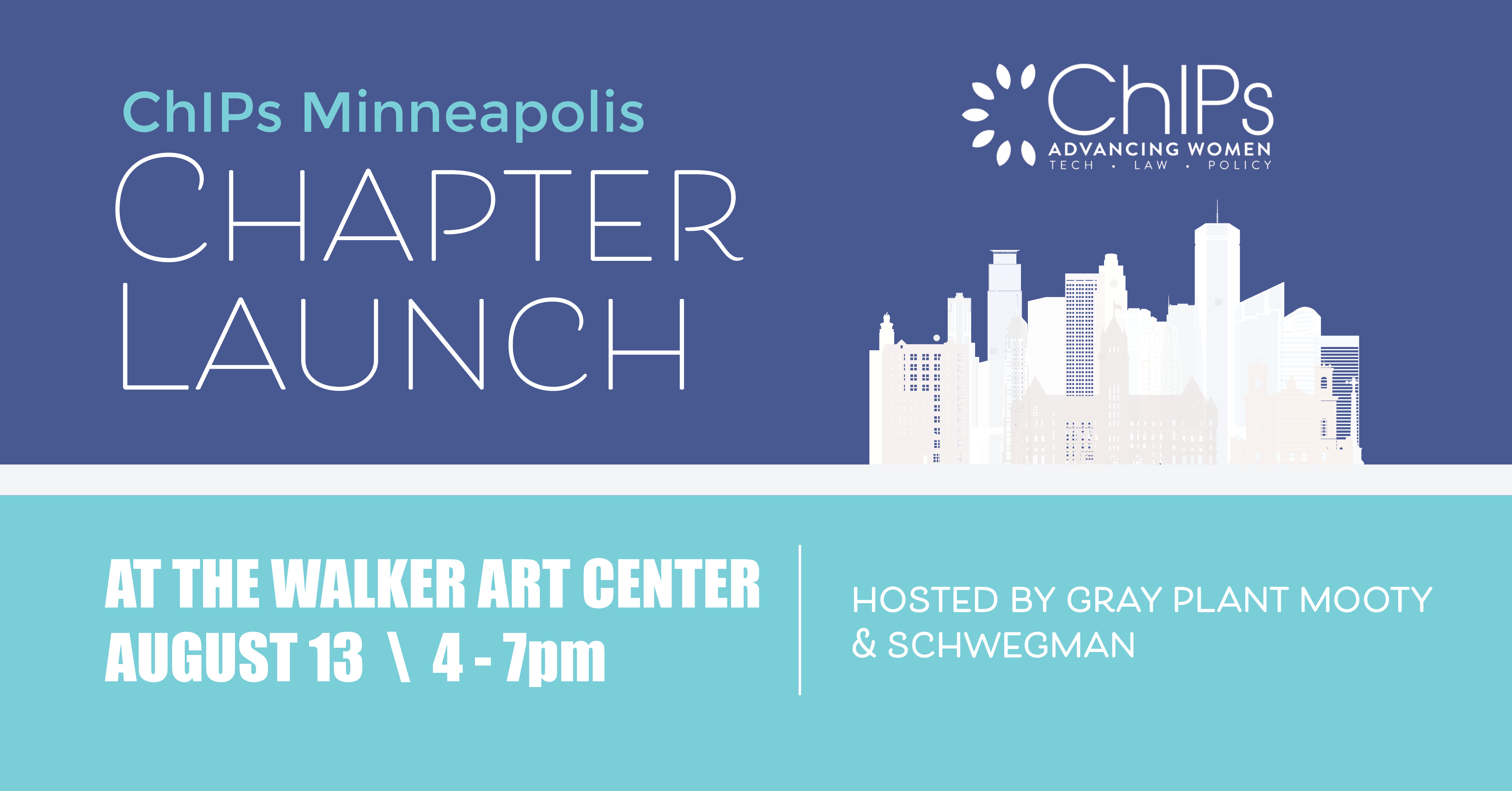 Chips Minneapolis Chapter Launch Social Media Image
